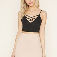 Crisscross Cropped Cami