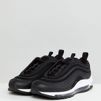 Nike Air Max 97 Ultra '17 Trainers In Black at asos.com