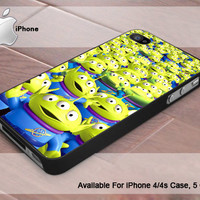 Aliens Toy Story  - Photo Print On Hard Plastic- iPhone 4 Case - iPhone 4s Case - iPhone 5 Case