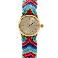 ASOS Friendship Bracelet Watch at asos.com