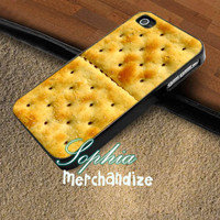 Cracker Bisquit - iPhone 4/4s/5 Case - Samsung Galaxy S3/S4 Case - Blackberry Z10 Case - Black or White