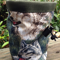 Wolf Chalk Bag for Climbing