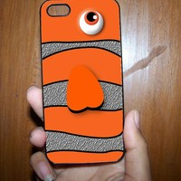 Orange Fish Case for Samsung S3,S4, iPhone 4,4s, iPhone 5.5s, iPhone 5c from Ortelu