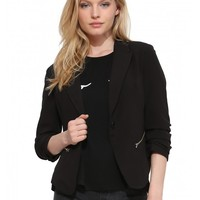 Zipped Intentions Blazer