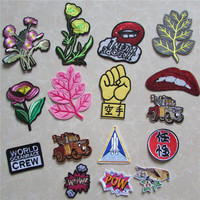 newfangled patch hot melt adhesive applique embroidery patch DIY clothing accessory patch C5018-C2228