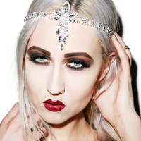 Western Fashion Into the Aether Hairband Silver One