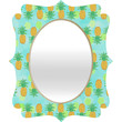 Lisa Argyropoulos Pineapples And Polka Dots Quatrefoil Mirror