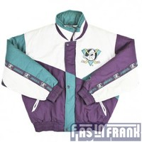 Pro Player Mighty Ducks Jacket Sz M | F as in Frank Vintage Clothing