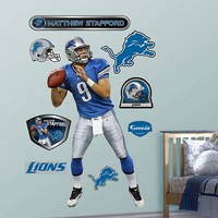 Fathead Detroit Lions Matthew Stafford Wall Decals