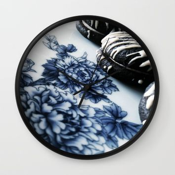 Cookies and ceramic Wall Clock by Yilan