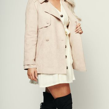 Heading Downtown Jacket (Rose)