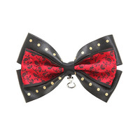 Once Upon A Time Hook Cosplay Hair Bow