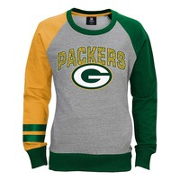 Green Bay Packers Amethyst Fleece - Girls 7-16, Size: