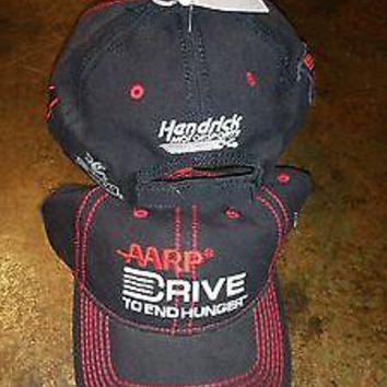 New JEFF GORDON AARP DRIVE TO END HUNGER PIT CAP HAT