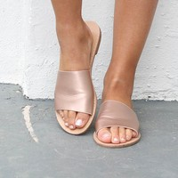 Addicted To Me Rose Gold Flat