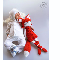 Foxy Naptime doll. Perfect gift for new born baby.