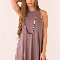 Birch Dress in Brown