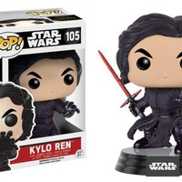 Kylo Ren Star Wars Force Awakens Funko Pop! Vinyl