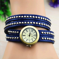 Double Wrap Leather Watch 51