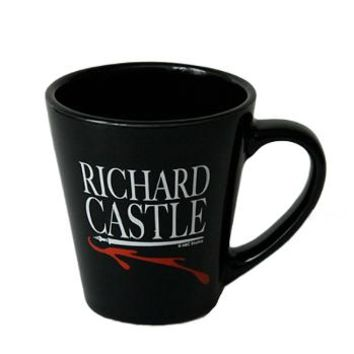 Richard Castle (ABC's Castle) Black Mug