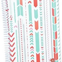 """Bloom Daily Planners 2016-17 Academic Year Daily Planner - Passion/Goal Organizer - Fashion Agenda - Weekly Diary - Monthly Datebook Calendar - August 2016 - July 2017 - 6"""" x 8.25"""" - Arrows"""