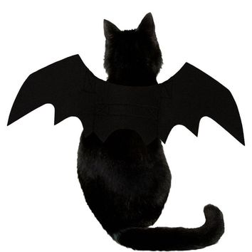 Funny Cats Cosplay Costume Halloween Pet Bat Wings Cat Bat Costume Fit Party Dogs Cats Playing Pet Product Party Clothes Decor