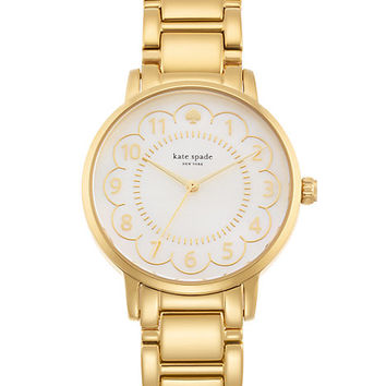 Kate Spade Scallop Gramercy Watch Gold ONE
