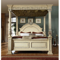 Meridian Furniture USA Sienna Canopy Bed & Reviews | Wayfair