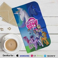 My Little Pony All Characters Leather Wallet iPhone 4/4S 5S/C 6/6S Plus 7| Samsung Galaxy S4 S5 S6 S7 NOTE 3 4 5| LG G2 G3 G4| MOTOROLA MOTO X X2 NEXUS 6| SONY Z3 Z4 MINI| HTC ONE X M7 M8 M9 CASE