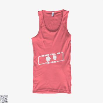 Never Tell Me The Odds, Star Wars Tank Top