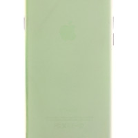 Green Frosted Transparent Soft Case for iPhone 6 Plus