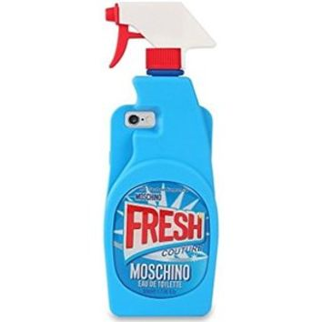 Jicheng Electronic IPhone 6 Plus Moschino Cleaning Spray Bottle Case,iPhone 6S Plus Cover,3D Cartoon Moschino Color Graffiti Cleaning Spray Bottle Silicone Case for Apple IPhone 6/6S Plus 5.5""