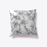 Marble Stone Texture Decorative Pillow