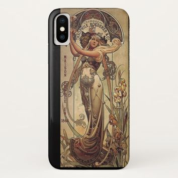 Art nouveau women's advertisement phone case