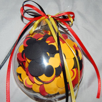 Mickey Mouse Ornament - Mickey Mouse Party Favor - Fish Extender Gift