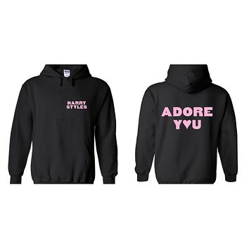 "Harry Styles ""HS / Adore You BACK"" Hoodie Sweatshirt"
