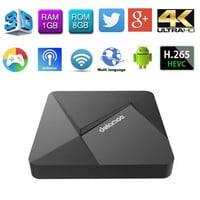 DOLAMEE D5 Android TV Box RK3229 Android 5.1 Fully Loaded 2GB DDR3 8GB emmc Miracast Streaming HD Smart TV Media Player WiFi