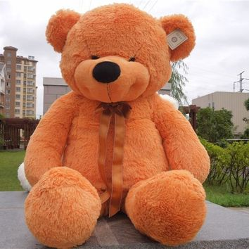 Free shipping 1m bear plush toy smile style teddy bear new style Christmas gift 4 color to choose
