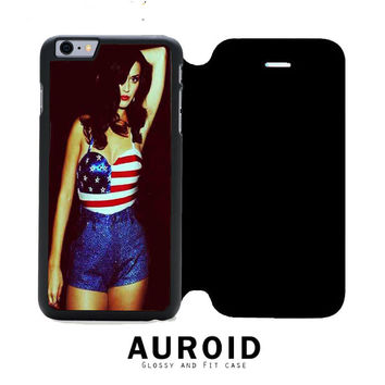 Katy Perry iPhone 6S Plus Flip Case Auroid