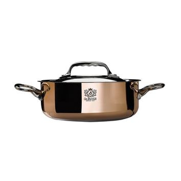 de Buyer Prima Matera saute-cpper  Pan with Lid 3.3qt