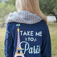 Take Me To Paris Long Sleeve Tee