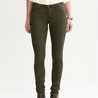 Green denim legging | Banana Republic