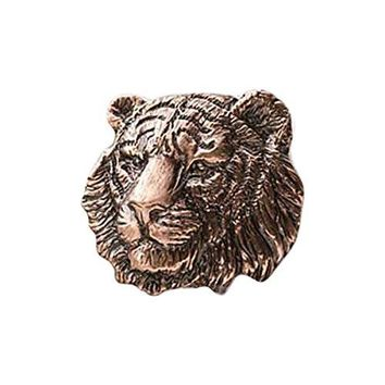 Creative Pewter Designs Pewter Tiger Handcrafted Lapel Pin Brooch M108