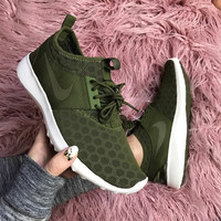 """Nike"" Fashion Women Sport Shoes Casual Sneakers honeycomb Army Green"