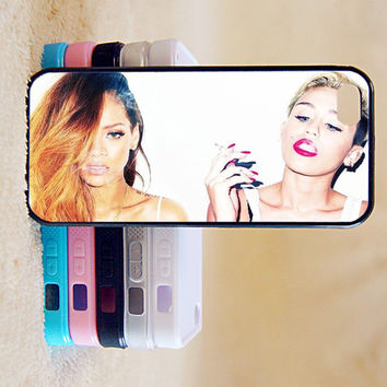 Miley Cyrus,Rihanna,Star ,idol,Custom Case, iPhone 4/4s/5/5s/5C, Samsung Galaxy S2/S3/S4/S5/Note 2/3, Htc One S/M7/M8, Moto G/X