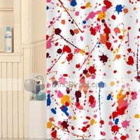 Beautiful Decorative Pattern Waterproof Bathroom Shower Curtain - DinoDirect.com