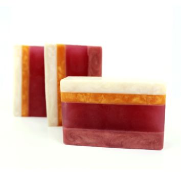 Blackberry and Vanilla Bean / Scented Artisan Handcrafted Soap