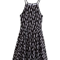 Patterned Jersey Dress - from H&M