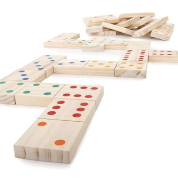 Hey! Play! Giant Wooden Dominoes Set | Overstock.com Shopping - The Best Deals on Board Games
