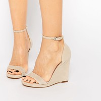 ALDO Elley Nude Wedge Sandals